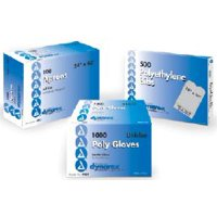 Dynarex Lap Bib Slipover Disposable Poly / Tissue, 4406 - Case of 300