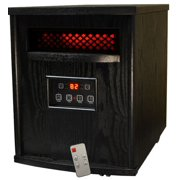 SUNHEAT TW1500 Infrared Heater with Remote Control - Black