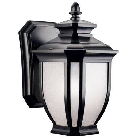 Outdoor Wall Sconces Black : Kichler 9039 Wall Sconces Salisbury Outdoor Lighting ;Black - Walmart.com