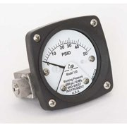 MIDWEST INSTRUMENT 120-SA-00-OO-50P Pressure Gauge,0 to 50 psi