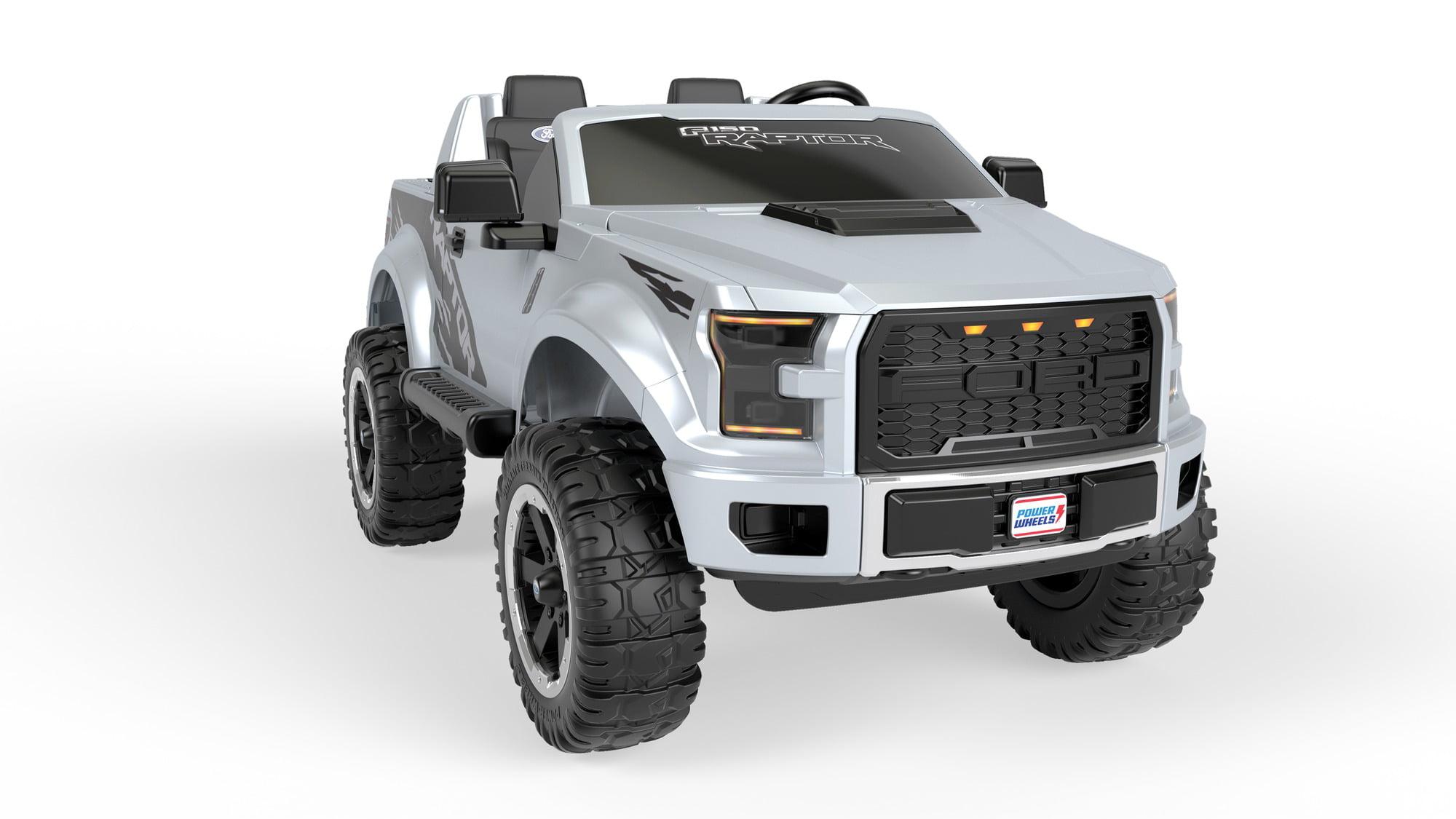 12v electric power wheels ford f 150 raptor extreme ride on toy truck kids gift ebay. Black Bedroom Furniture Sets. Home Design Ideas