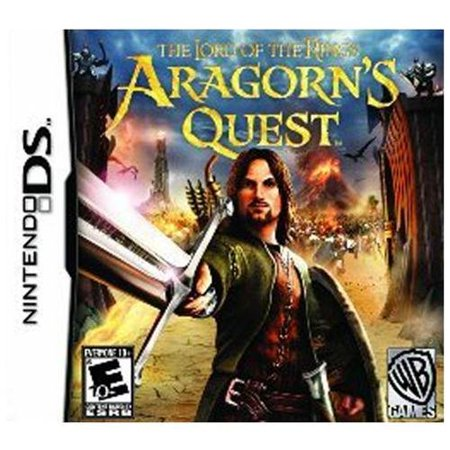 Lord Of Rings: Aragorns Quest, WHV Games, NintendoDS, 883929085996 (Lego Lord Of The Rings Video Game)