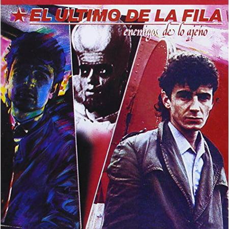 El Ultimo De La Fila - Enemigos De Lo Ajeno [CD] - La Fila Halloween