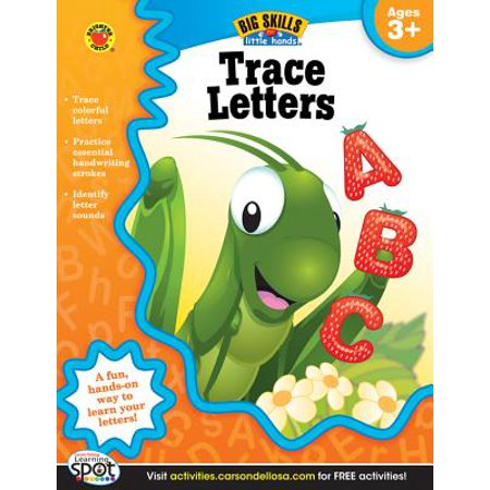 Trace Letters, Ages 3 - 5 (Best Gifts Under 500)