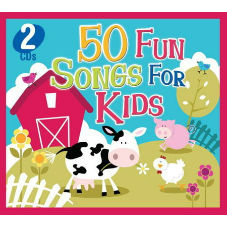 50 Fun Songs For Kids (CD) Birthday Party Songs Cd