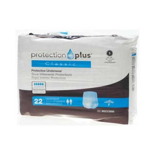 Protection Plus Classic Protective Underwear,Small MSC23000