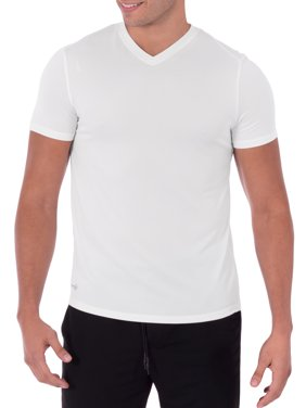 Russell Men's Performance Activewear Short Sleeve V-Neck Tee