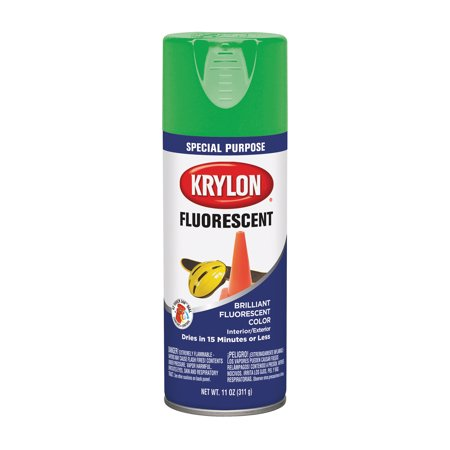 (Krylon Fluorescent Paint Green, 11 oz)