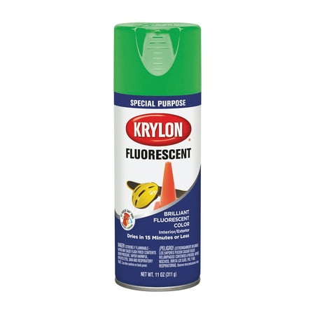 Krylon Fluorescent Paint Green, 11