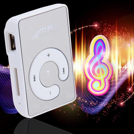 Mini Clip USB MP3 Music Media Player With Micro TF/SD card Slot Support 128M - 8GB (Move Music From Windows Media Player To Itunes)