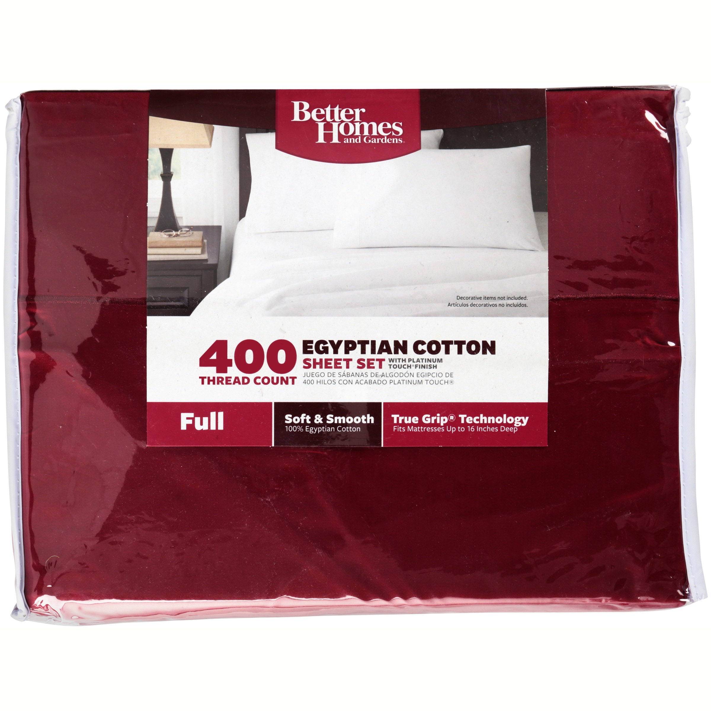 Better Homes & Gardens® 400 Thread Count White Full Sheet Set 4 pc ...