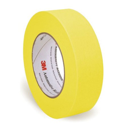 3M 06654 Automotive Refinish Masking Tape - 36 mm x 55 m 233+ Automotive Refinish Masking Tape