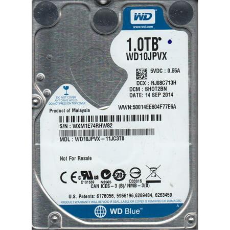 Wd10jpvx 11Jc3t0  Dcm Shot2bn  Western Digital 1Tb Sata 2 5 Hard Drive