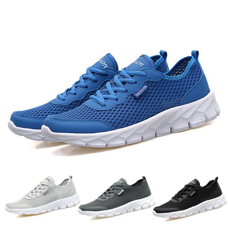 Mens Walking Tennis Shoes Blade Slip on Casual Fashion Sneakers