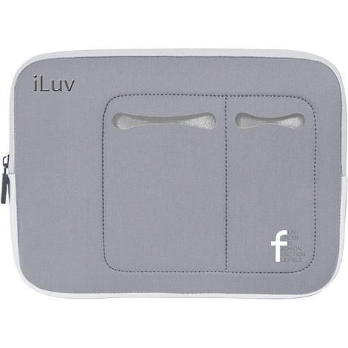 "iLuv 7"" to 10.2"" Mini Laptop Sleeve, Gray"