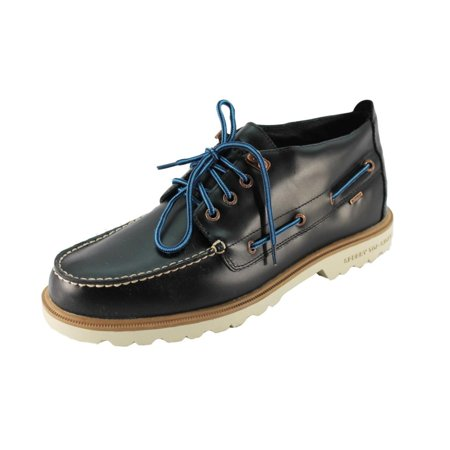 Sperry Blue Shoes - Sperry Top-Sider A/O Lug Chukka WP Mens Blue Boots