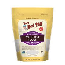 Flours & Meals: Bob's Red Mill White Rice Flour
