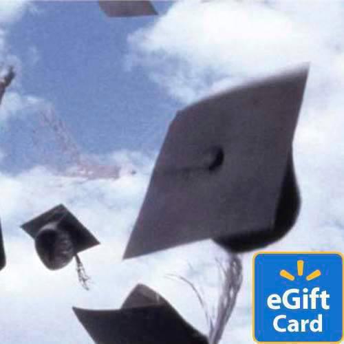 Graduation Caps Walmart eGift Card