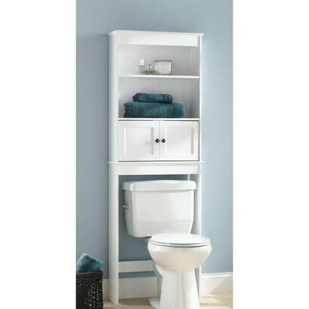 Chapter Bathroom Space Saver, White - Walmart.com