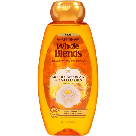 Garnier Whole Blends Shampoo with Moroccan Argan & Camellia Oils Extracts 22 FL OZ