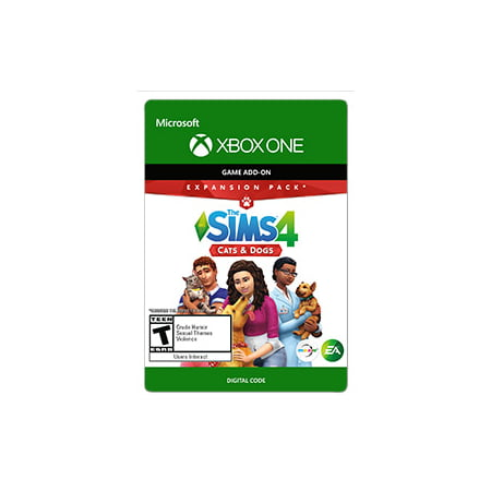 Sim's 4: Cats & Dogs, Electronic Arts, XBOX One, [Digital Download] (The Sim Xbox)