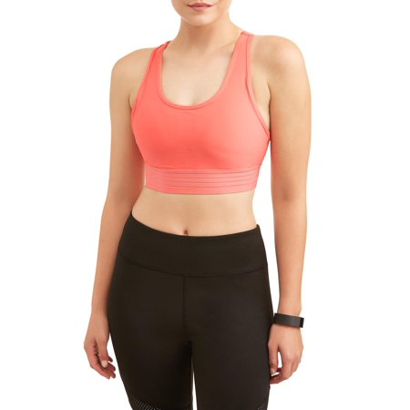 Women's Medium Impact Stripe It Sports Bra