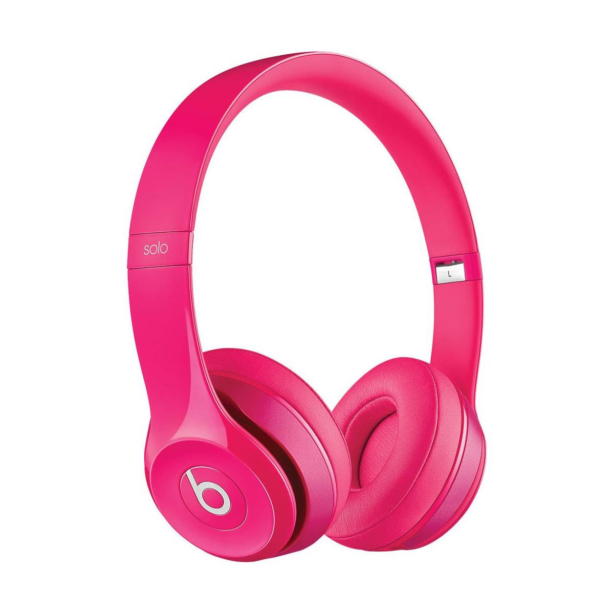 Apple Beats by Dr. Dre Solo2 Wired On-Ear Headphones - Pink