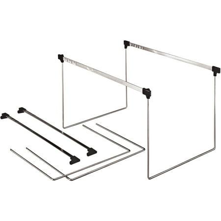Pendaflex, PFXAFF24, Actionframe Drawer File Frames, 2 / Box, Stainless
