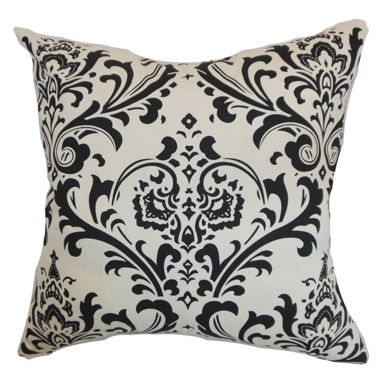 The Pillow Collection Olavarria Damask Pillow