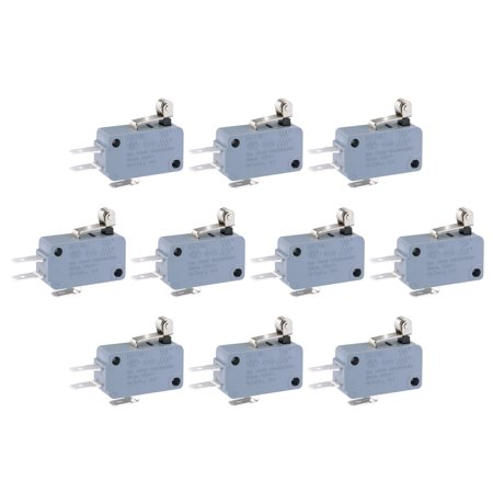 10 Pcs G5T16-E1Z200A05 Micro Limit Switch Roller Lever Arm SPDT Snap Action LOT - image 1 of 1