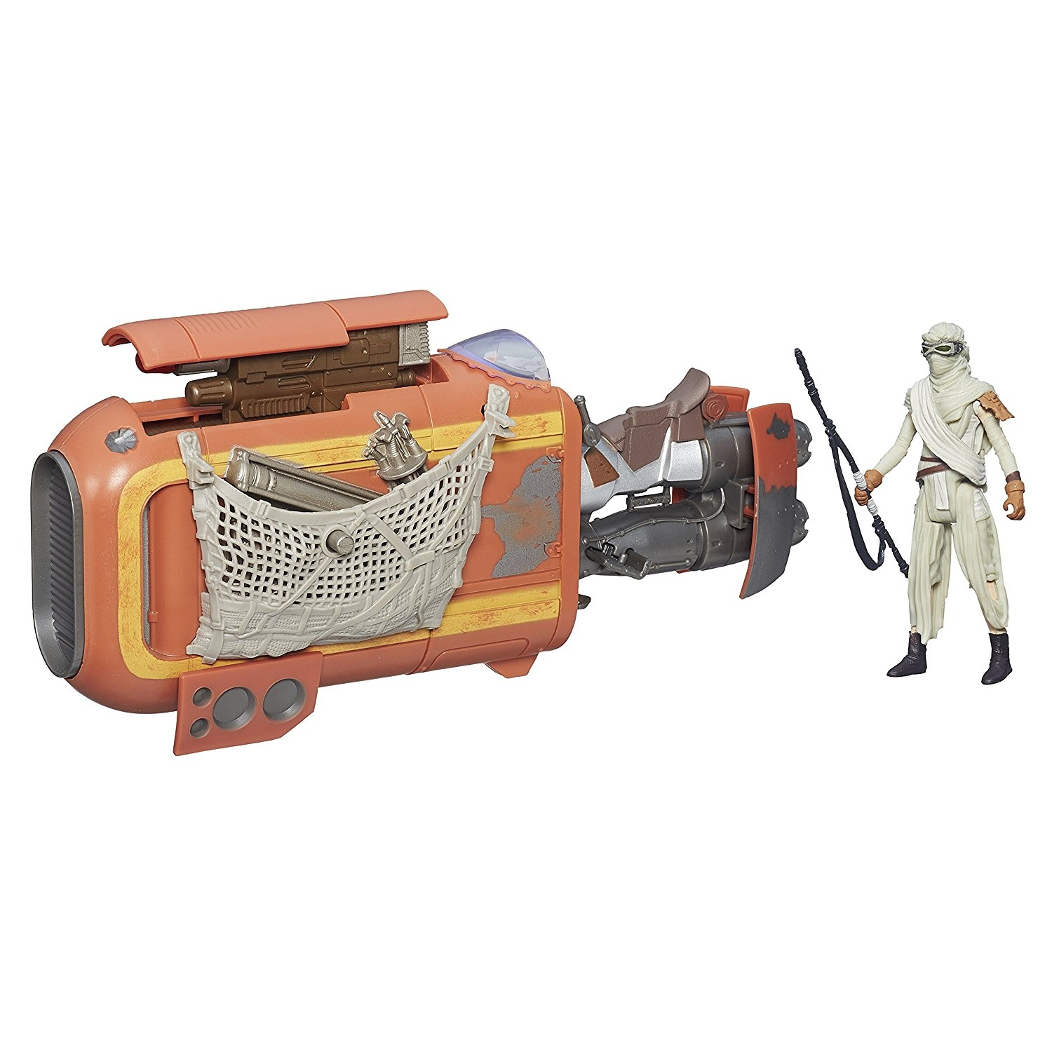 Star Wars The Force Awakens 3.75-inch Vehicle Rey's Speed...