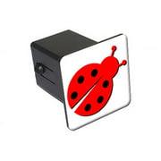 "Lady Bug, Ladybug 2"" Tow Trailer Hitch Cover Plug Insert"