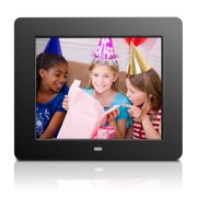 "Aluratek 8"" Digital Photo Frame with Touchscreen Display and 4GB Built-in Memory (800 x 600 resolution, 4:3 Aspect Ratio)"