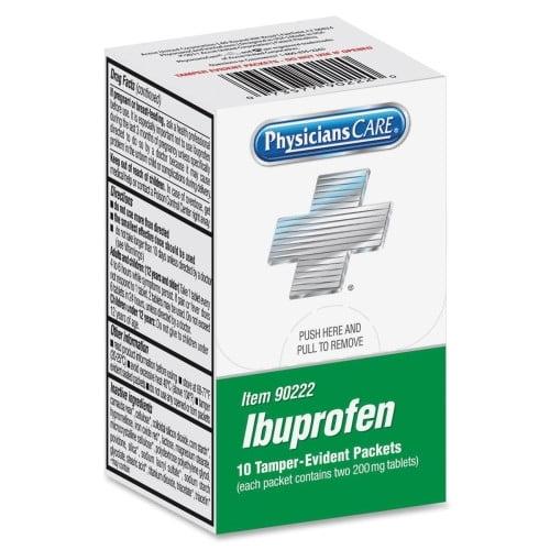 ACME UNITED CORPORATION Xpress Ibuprofen Packet (10 Per Box)