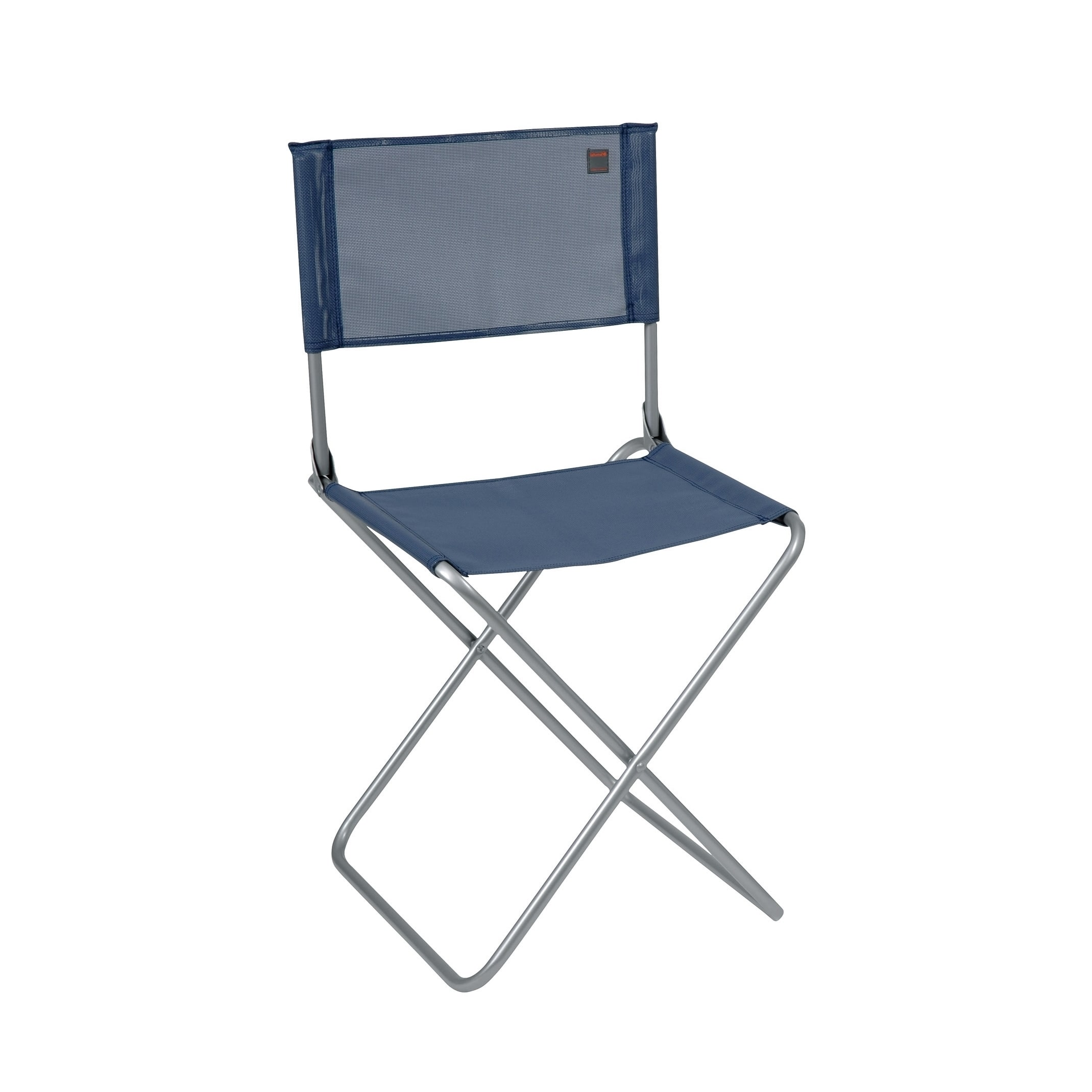 Lafuma CNO Alu brut Aluminum Frame Folding Chair with Ocean Batyline Fabric (Set of 6) by Overstock