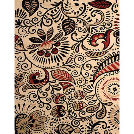 United Weavers Plaza Gina Woven Olefin Area Rug](Kingston Plaza)