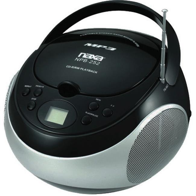 Naxa Portable mp3-CD Player with AM-FM