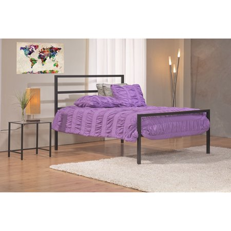 Mainstays Queen Parsons Bed Black Onsales11 Com