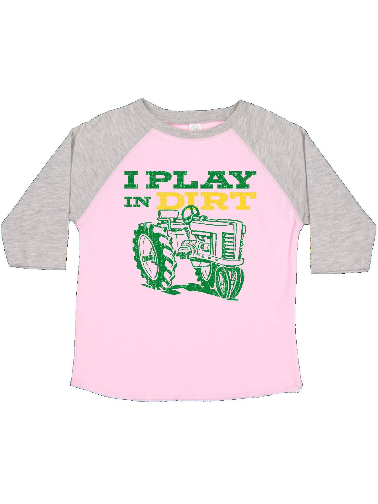 Play In Dirt Tractor Toddler T-Shirt