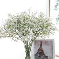 1Pc Artificial Silk Baby's Breath Gypsophila Flowers Bouquet Home Wedding Decor