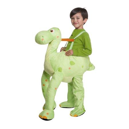 Green Dinosaur Child Ride-on Costume