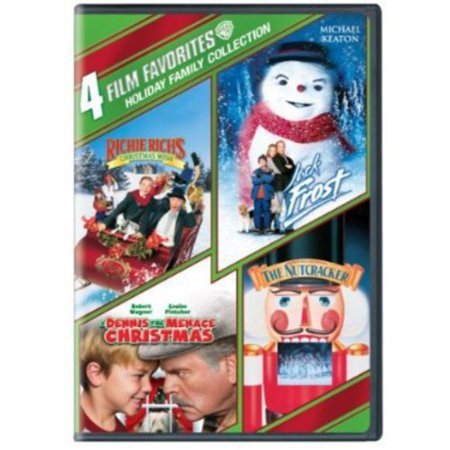 Richie Richs Christmas Wish.4 Film Favorites Holiday Family Collection A Dennis The Menace Christmas Jack Frost George Balanchine S The Nutcracker Richie Rich S