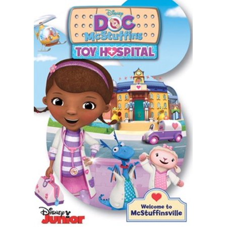 Doc McStuffins: Toy Hospital (DVD) - Doc Back To The Future