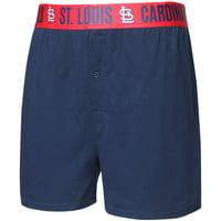 St. Louis Cardinals Concepts Sport Title Boxer Shorts - Navy