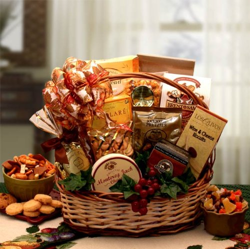 Perfect Gourmet Gift Basket of Fine Foods