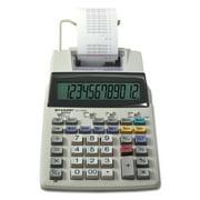 Sharp El-1750v Two-color Printing Calculator, Black/red Print, 2 Lines/sec