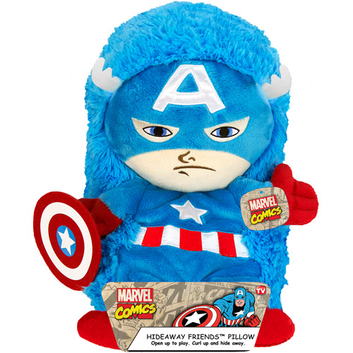 "14"" Captain America Hideaway Pet"