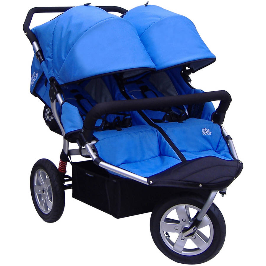 Tike Tech CityX3 Swivel Twin Stroller