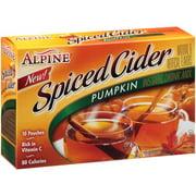 Alpine Pumpkin Spiced Cider Instant Drink Mix, 0.74 oz, 10 ct