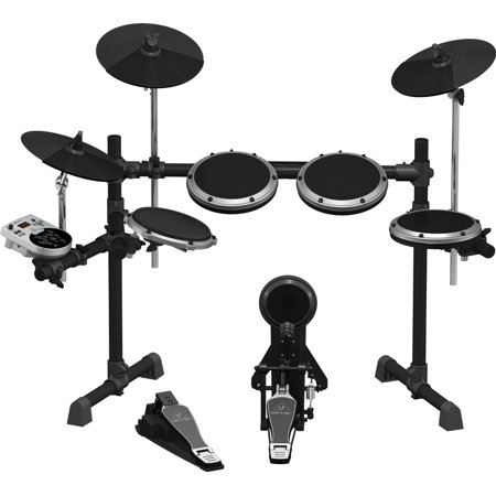 (Behringer XD8USB 8-Piece Electronic Drum Set w/123 Sounds, 15 Drum Sets and USB Interface)